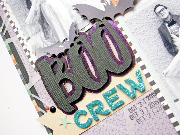 Boo Crew by Nicole Nowosad for Scrapbook & Cards Today