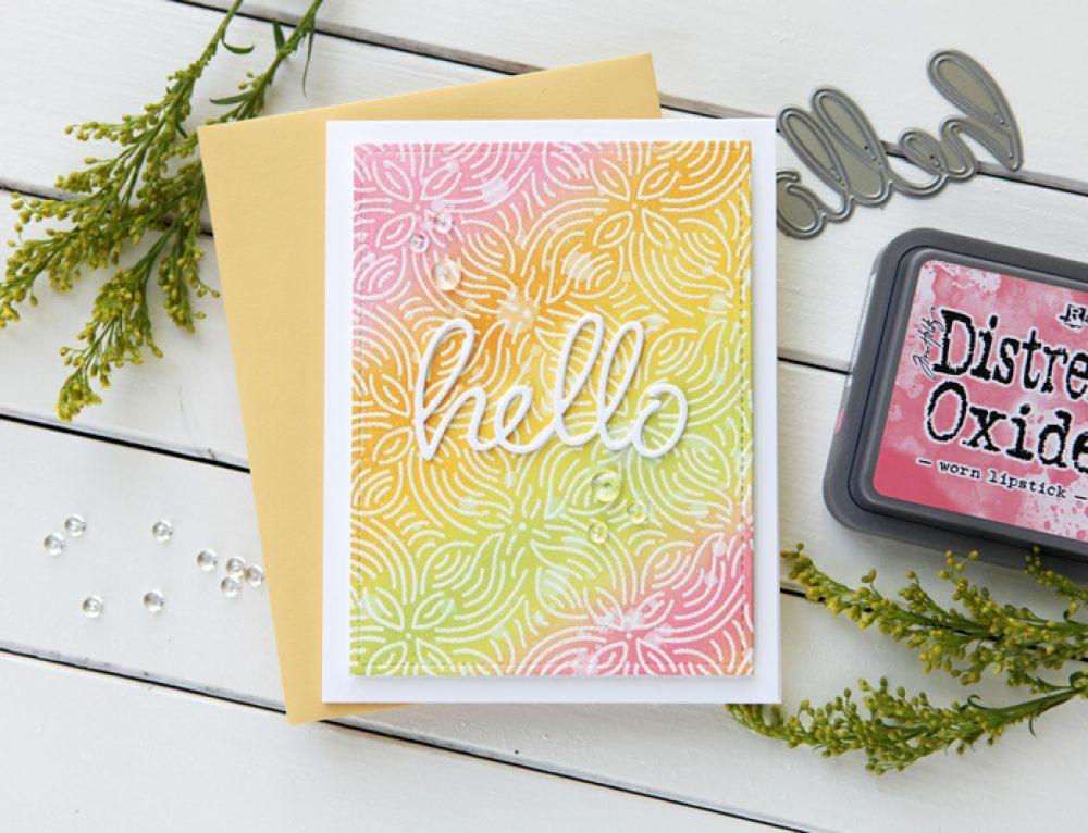 10:00 am World Card Making Day – HELLO!