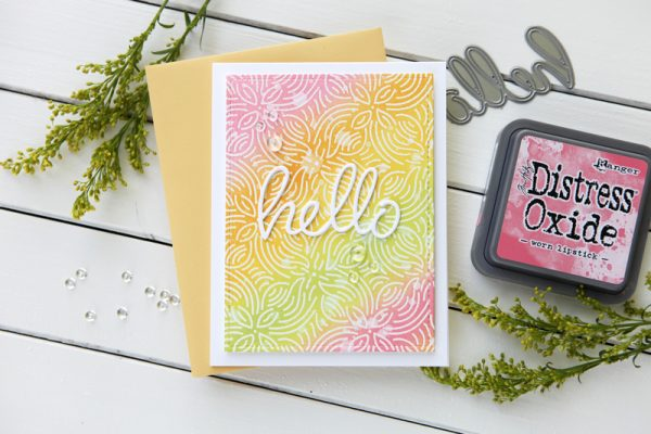 Cathy Zielske card for Scrapbook & Cards Today