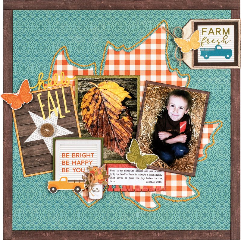 Patty Folchert for Scrapbook & Cards Today magazine