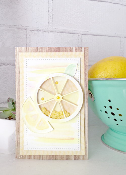 Lemonade Card by Megan Hoeppner