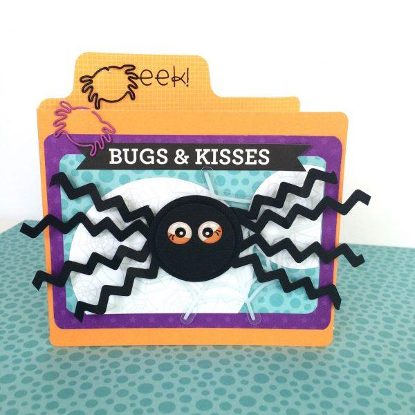 Virginia Nebel Halloween 1 for Scrapbook & Cards Today magazine