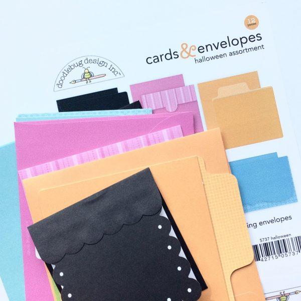 Virginia Nebel Halloween 3 for Scrapbook & Cards Today magazine