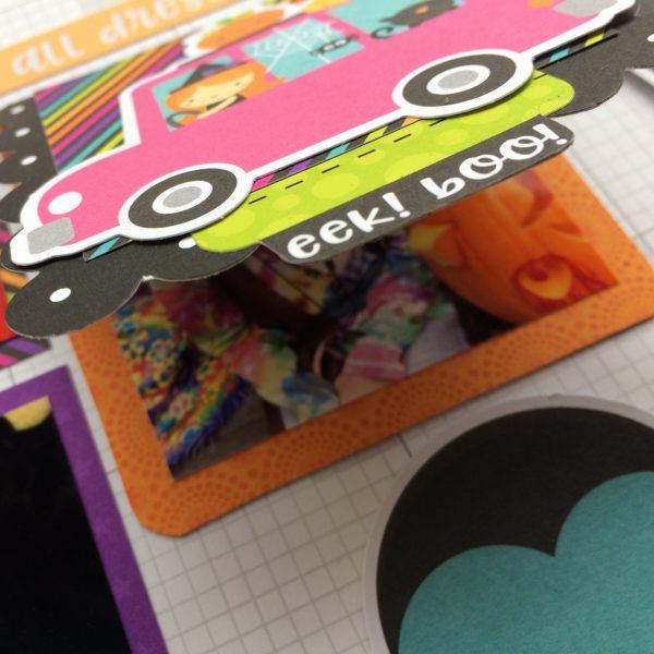 Virginia Nebel Halloween 6 for Scrapbook & Cards Today magazine