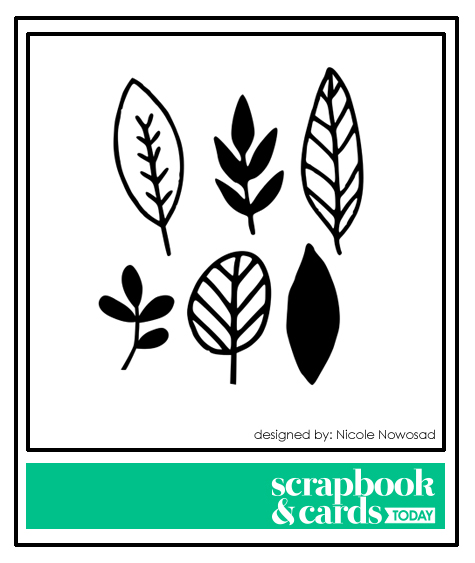 October 2017 free cut file for Scrapbook & Cards Today