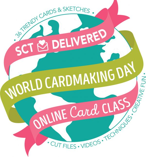 World Card Making Day class with SCT