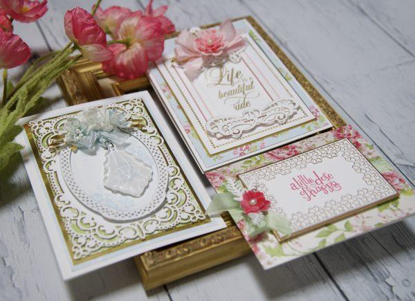 Spellbinders - Elegant Lace Cards