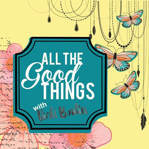 All the Good Things Watercolour Flip Book with Vicki Boutin