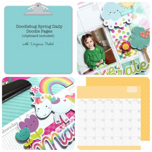 Doodlebug Spring Daily Doodles with Virginia Nebel