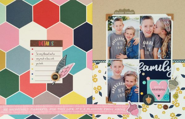 Sheri Reguly for Scrapbook & Cards Today magazine
