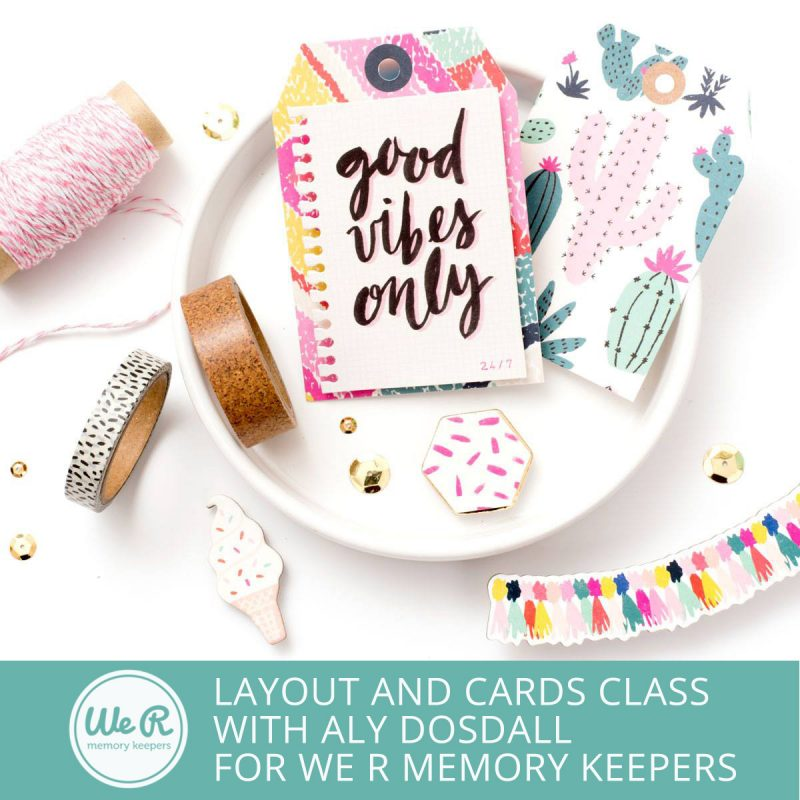 Shake it Up! Layout & Card Workshop with Aly Dosdall