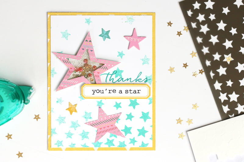 You're A Star card by Meghann Andrew