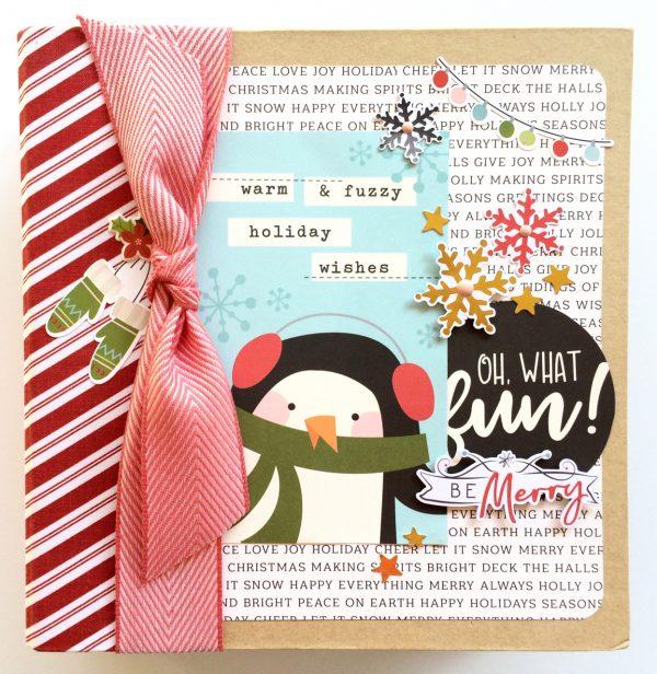 Oh What Fun Sneak Peek by Virginia Nebel for Scrapbook & Cards Today