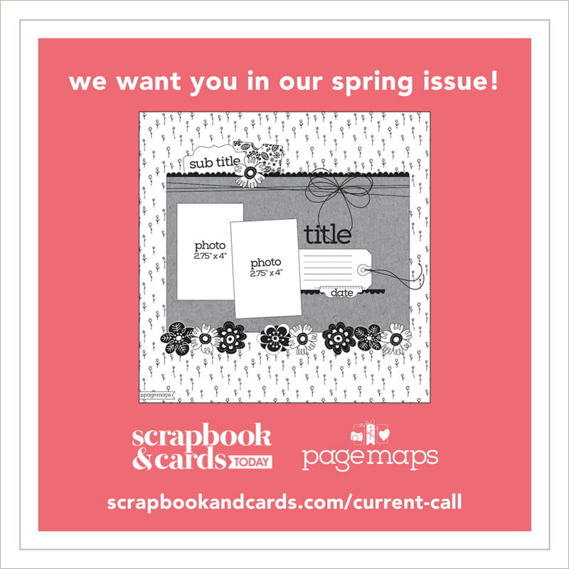 Scrapbook & Cards Today - Spring 2018 call