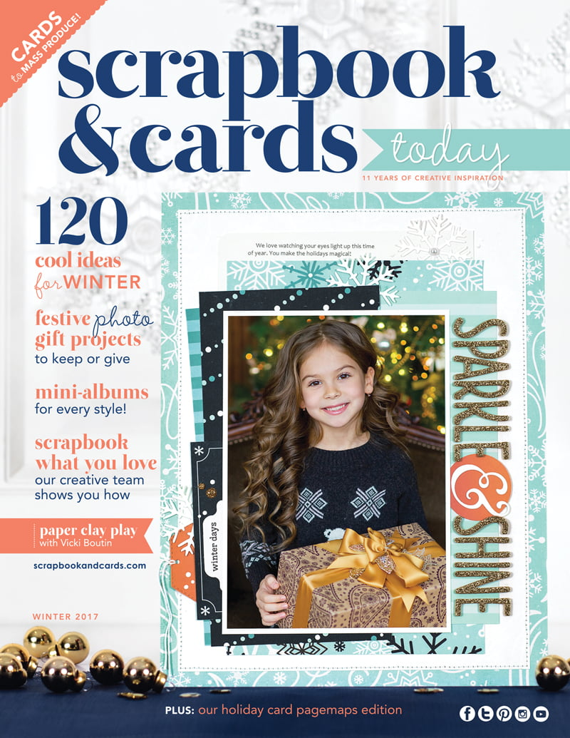 Scrapbook & Cards Today Winter 2017 Issue