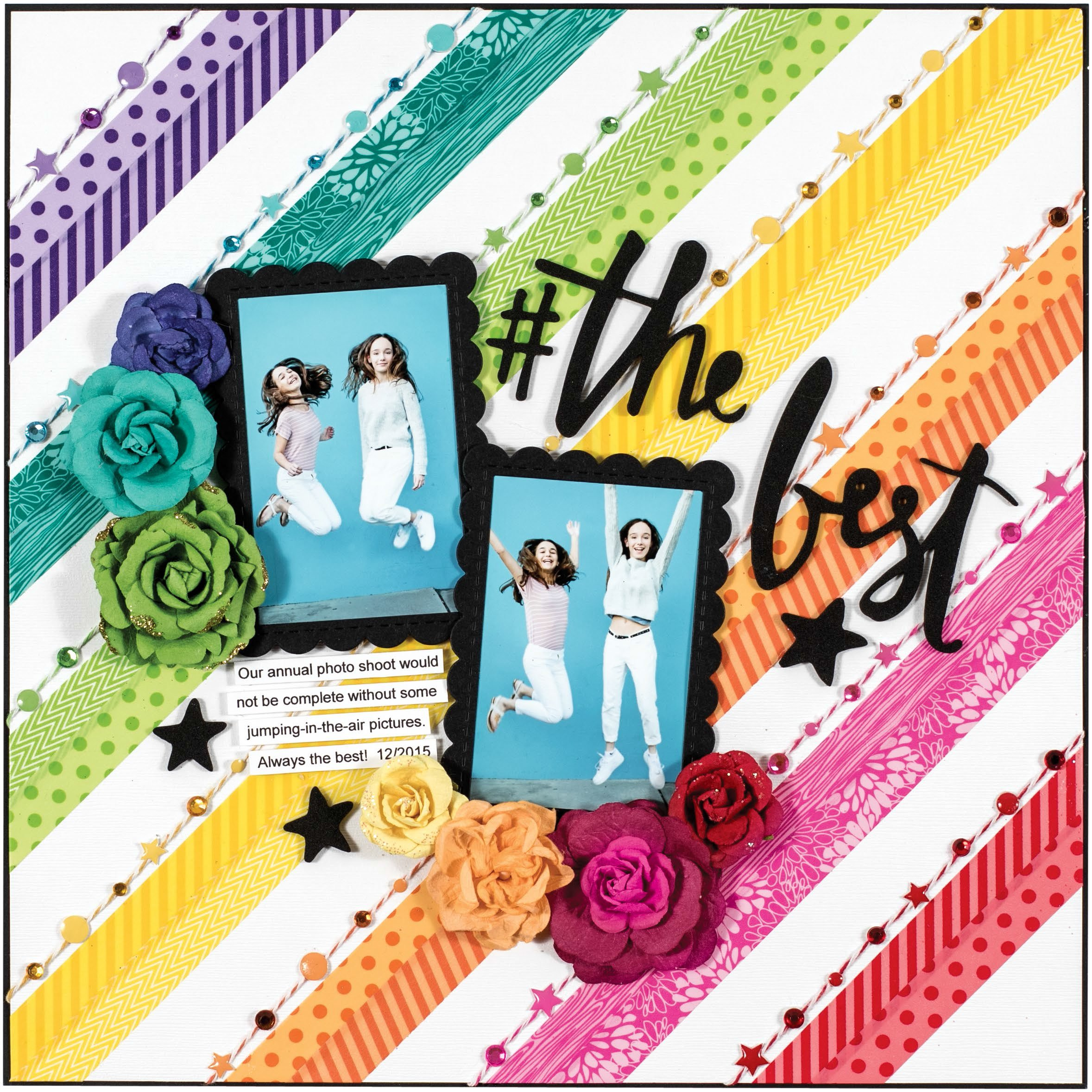 The Best by Stacy Cohen for Scrapbook & Cards Today