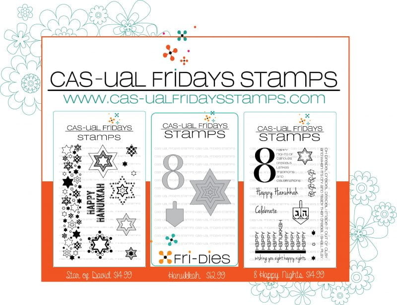 CAS-ual Fridays Stamps 1