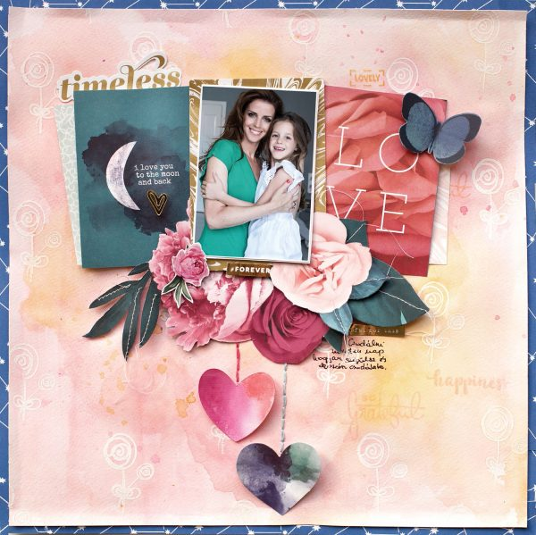 Timeless Love by Bea Valint for Scrapbook & Cards Today