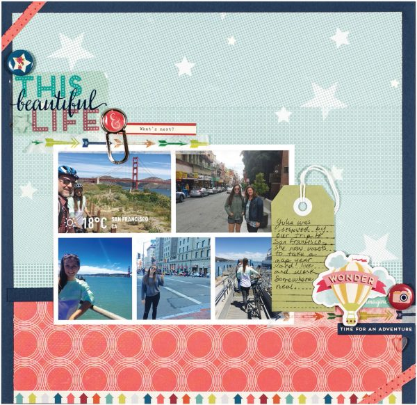 This Beautiful Life by Serena Gedlaman for Scrapbook & Cards Today
