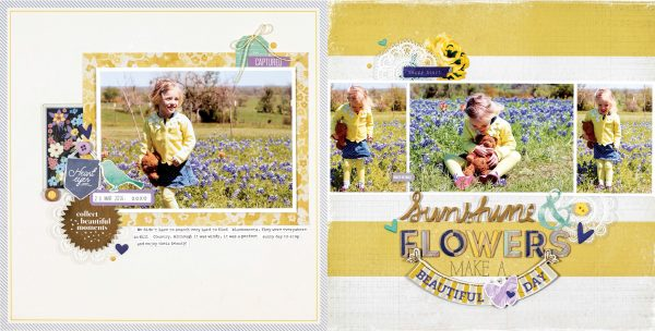 Beautiful Day by Meghann Andrew for Scrapbook & Cards Today