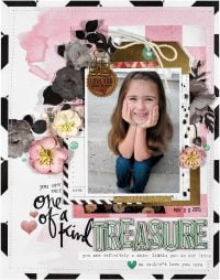 Treasure by Nicole Nowosad for Scrapbook and Cards Today Magazine