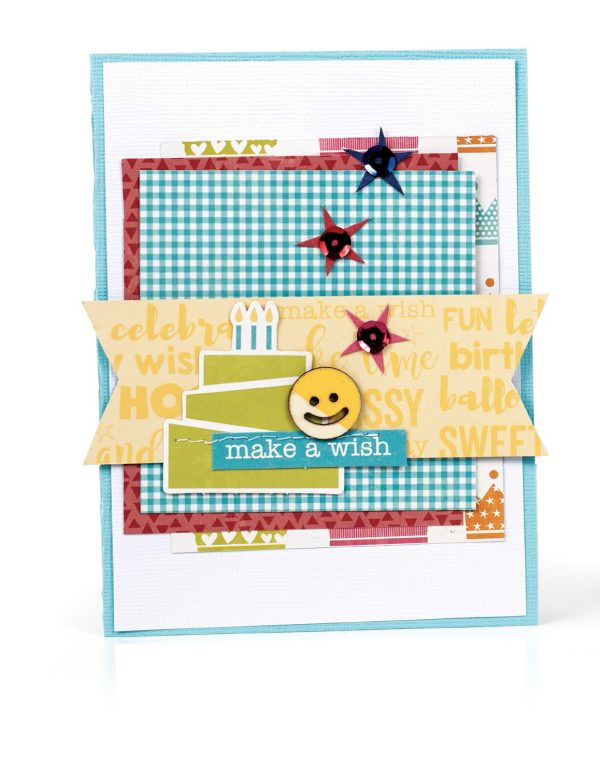 Make A Wish by Amy Coose for Scrapbook & Cards Today