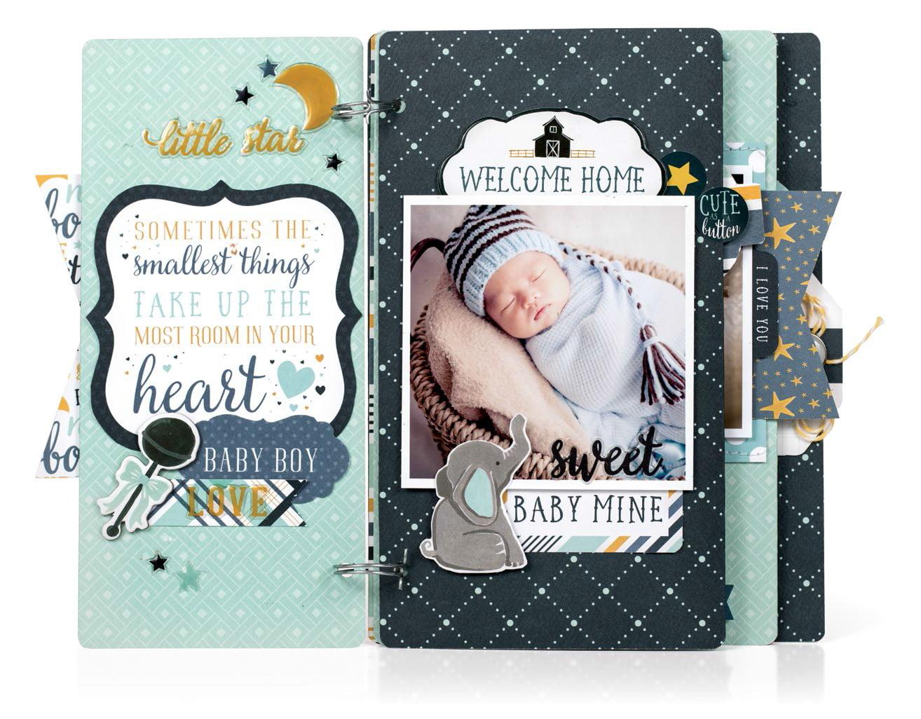 Jayden by Virginia Nebel for Scrapbook & Cards Today