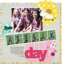 Field Day by Lisa Dickinson for Scrapbook & Cards Today