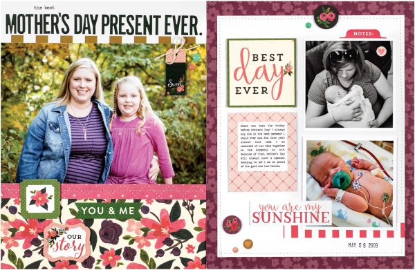 Mother's Day Present by Jen Chapin for Scrapbook & Cards Today