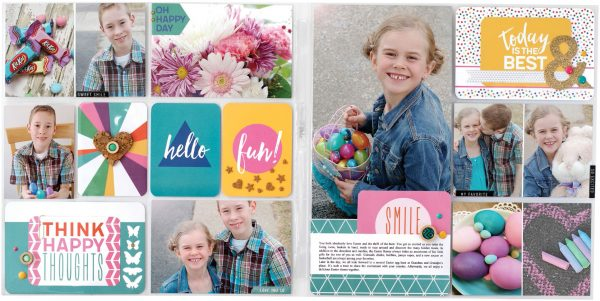 Oh Happy Day by Sheri Reguly for Scrapbook & Cards Today