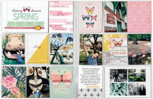 Spring by Nancy Damiano for Scrapbook & Cards Today