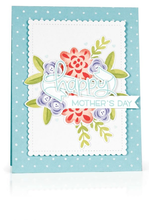 Happy Mother's Day Card by Kimberly Crawford for Scrapbook & Cards Today