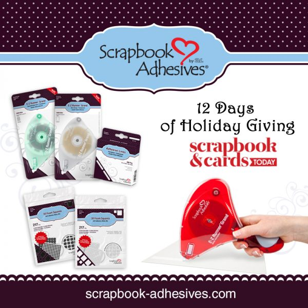 SCT 12 Days of Holiday Giving - Scrapbook Adhesives by 3L