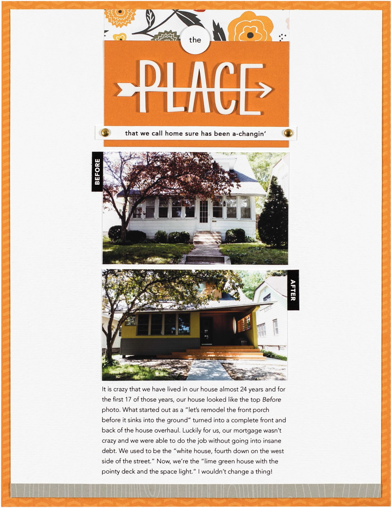 The Place by Cathy Zielske for Scrapbook & Cards Today