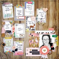 Being A Mom by Kim Watson for Scrapbook & Cards Today