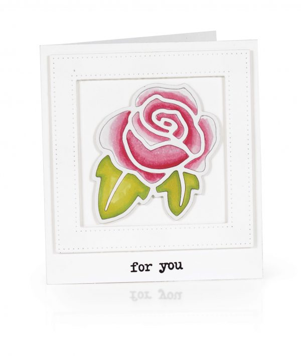 For You by Karin Akesdotter for Scrapbook & Cards Today