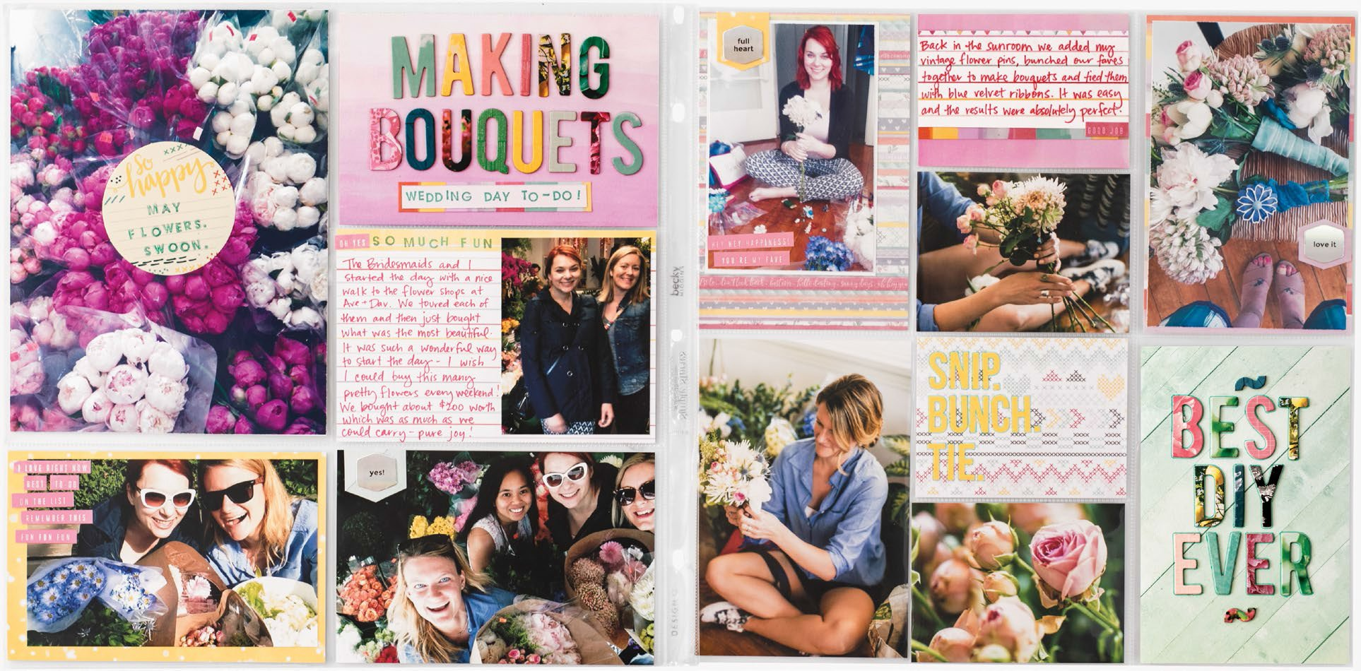 Best DIY Ever by Melanie Godecki for Scrapbook & Cards Today