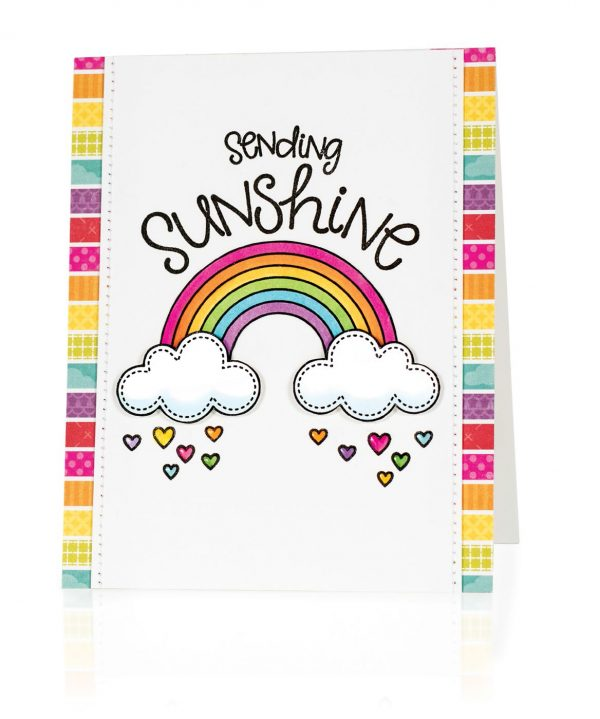 Sending Sunshine by Mendi Yoshikawa for Scrapbook & Cards Today