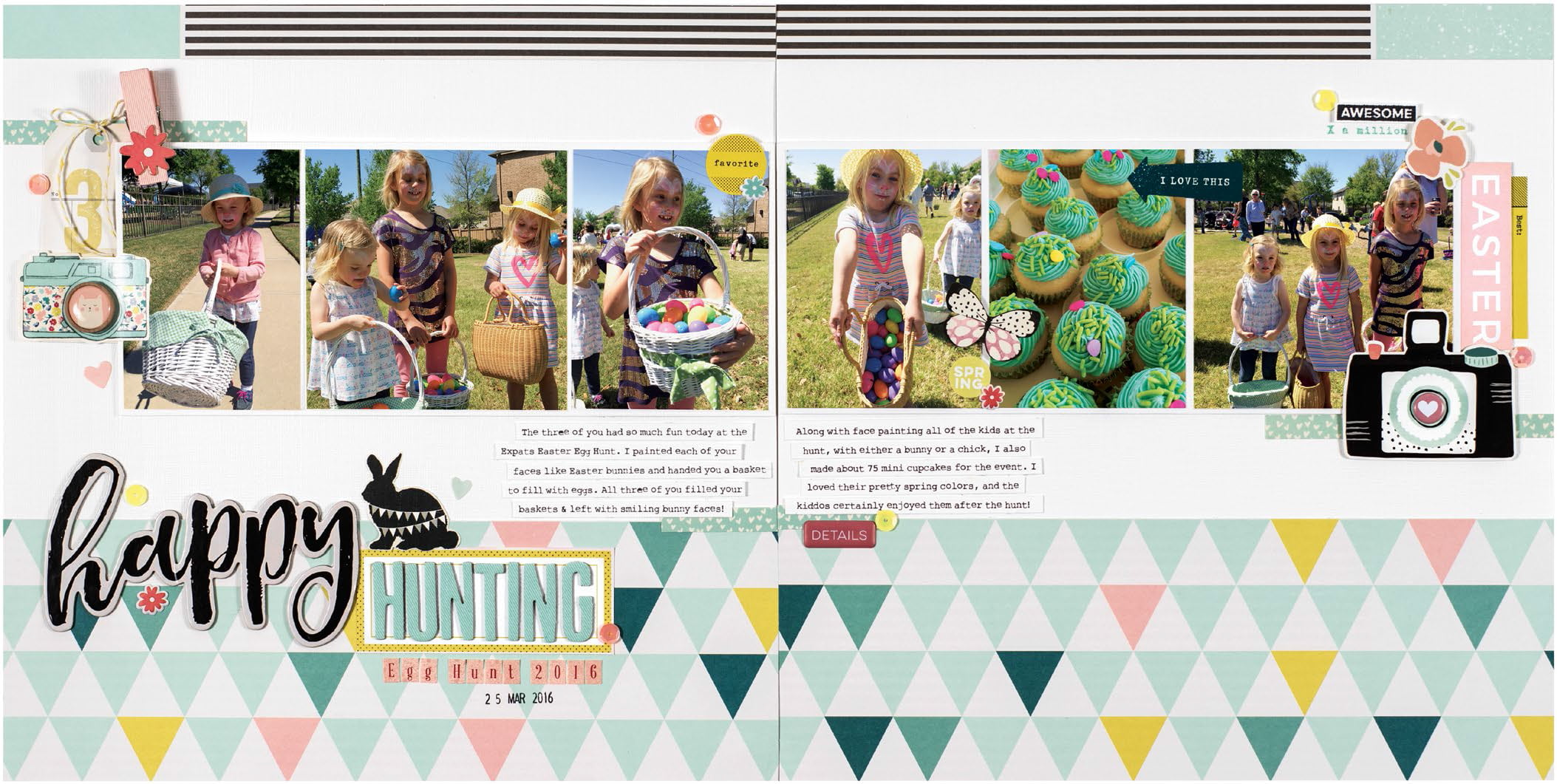 Happy Hunting by Meghann Andrew for Scrapbook & Cards Today