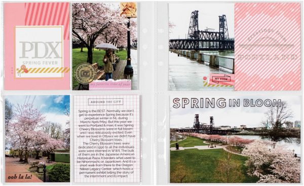 PDX by Krista Wells for Scrapbook & Cards Today