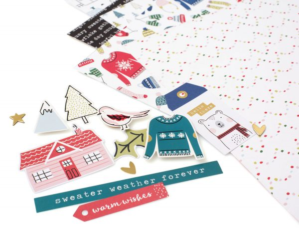 SCT 12 Days of Holiday Giving - American Crafts for Scrapbook & Cards Today