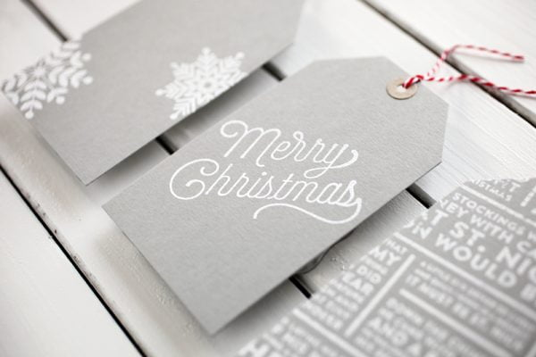 Holiday Tags by Cathy Zielske for Scrapbook & Cards Today magazine