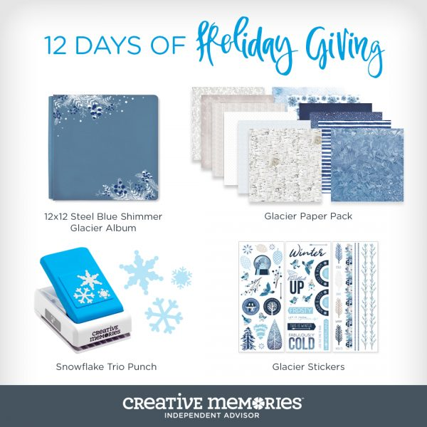 SCT 12 Days of Holiday Giving - Creative Memories for Scrapbook & Cards Today