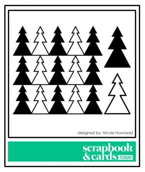 Scrapbook & Cards Today - December 2017 Free Cutting Files