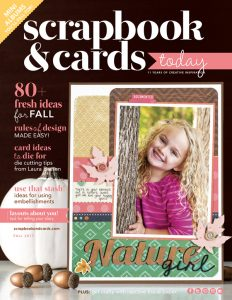 Scrapbook & Cards Today magazine - Fall 2017