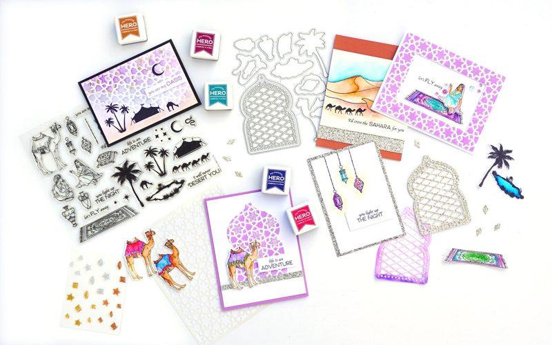 Hero Arts for Scrapbook & Cards Today