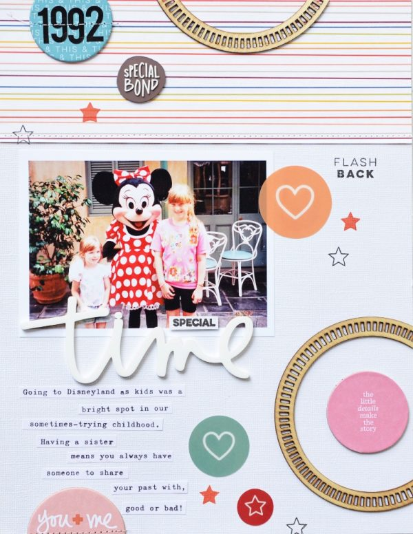 Layout by Jen Chapin for Scrapbook & Cards Today
