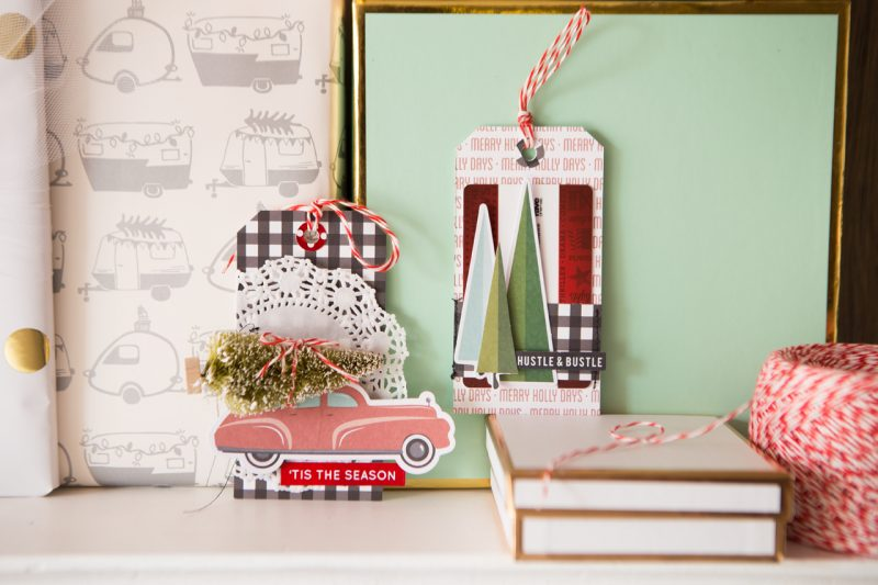 Christmas Tag by Megan Hoeppner for Scrapbook & Cards Today magazine