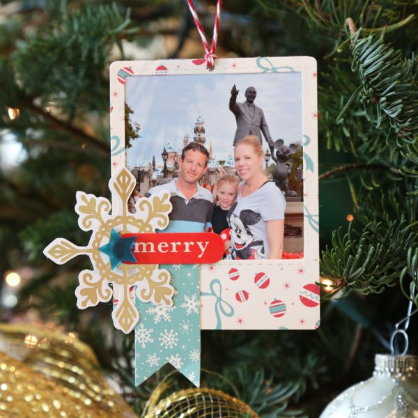 Christmas Ornaments by Meghann Andrew for Scrapbook & Cards Today