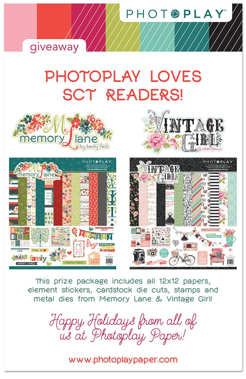 Photo Play Paper for Scrapbook & Cards Today magazine